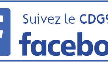 Suivez le CDG92 sur facebook